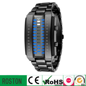 Fashion LED Multifuction Plastic Watch with RoHS CE FCC pictures & photos