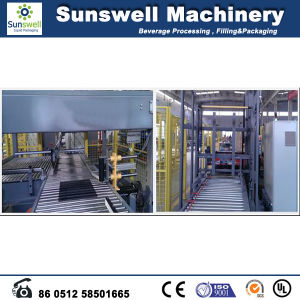 Fully Automatic Low Level Palletizer pictures & photos