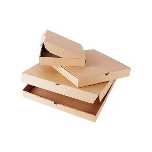 3 Sizes Brown Color Corrugated Paper Cardbaord Pizza Boxes pictures & photos
