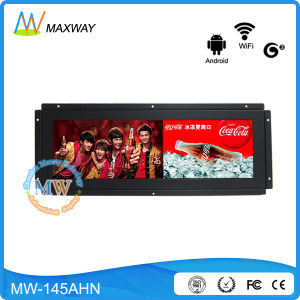 14.9 Inch Open Frame TFT Ultra Wide Streched Dispplay, Ultrawide LCD Panel (MW-145AHN) pictures & photos