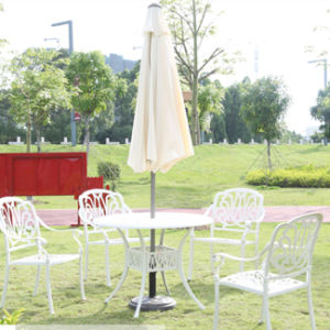 Round Windproof Outdoor Beech Promotional Parasol pictures & photos