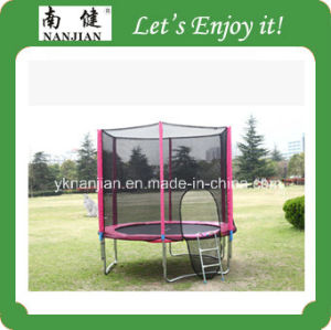 Fitness Equipment, 10ft Trampoline Bed with Enclosure and Ladder pictures & photos