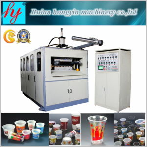 Automatic Pet/PP/HIPS/PS Plastic Cup Thermoforming Machine pictures & photos