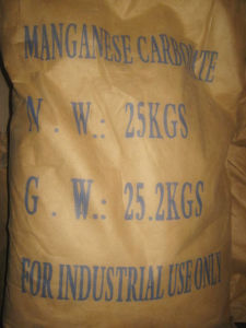 What is maganese (II) carbonate?