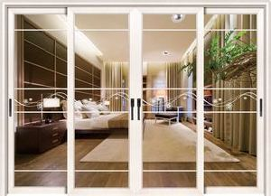 Wide Glass & Alumium Color Option Sliding Door pictures & photos