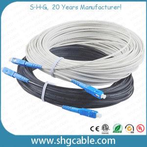1-4 Fibers Drop FTTH Fiber Optic Cable (GJYXCH) pictures & photos