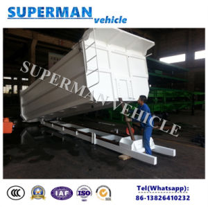Coal/ Sand Transport Tipping Trailer Tipper Body for Sales pictures & photos