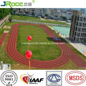 China Supplier Spray Coating Running Track Flooring Material pictures & photos