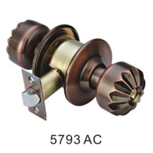 Common Using Iron Cylindrical Ball Round Knob Lock (5793 AC) pictures & photos