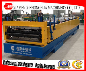 Double Layer Trapezoidal Roof Sheet Roll Forming Machine for Sale pictures & photos