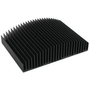 Black Anodized Aluminum Heatsink for Intrdustrial Appliance pictures & photos