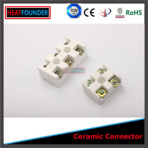 Glazed High Al2O3 Ceramic Terminal Connector pictures & photos
