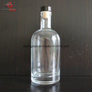 750ml Super Premium Glass Whiskey Bottle pictures & photos