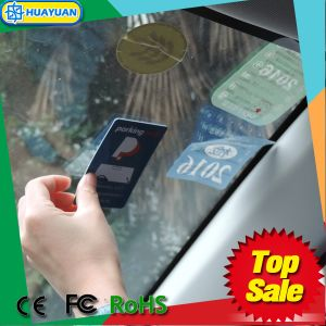 EPC1 Gen2 RFID UHF UCODE7 windshield tag for parking system pictures & photos