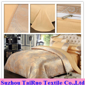 100% Polyester Jacquard Pongee for Bedding Set pictures & photos