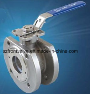 1PC Ball Valve with Mounting Pad pictures & photos