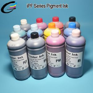 Waterproof Inkjet Printer Ink for Canon Imageprograf Ipf8400 / Ipf8410 / Ipf9400 / Ipf9410 Pigment Based Ink Factory pictures & photos