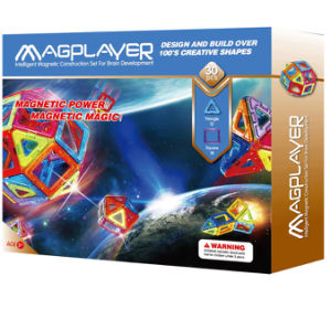Magplayer Rainbow Set Kids Magnetic Toys Puzzles Recyclable pictures & photos