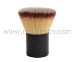 Synthetic Flat Kabuki Powder Brush, Cosmetic Makeup Brush pictures & photos
