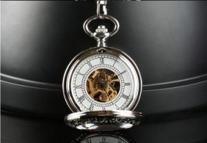 Fashion Design Automatic Movement Automatic Pocket Watch pictures & photos