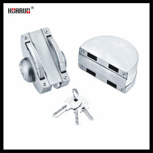 Stainless Steel Glass Door Lock HR-1150/HR-1151 pictures & photos
