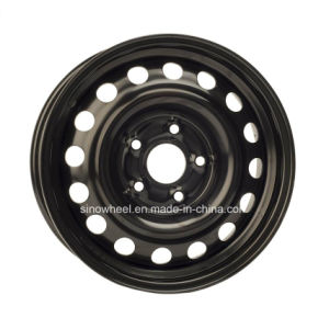 15X6 High Quality Steel Wheel Passenger Car Wheel pictures & photos