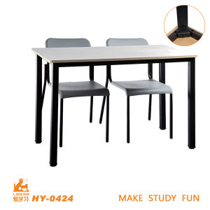 Modern Double Table and Chair for High School pictures & photos