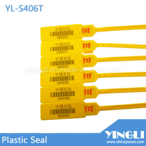 Airline Transportation Safety Plastic Seal with Barcode Printed pictures & photos