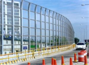 Popular Decoration Material PC Solid Sheet for Modern Highway Barrier pictures & photos