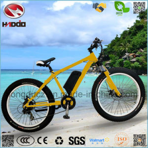 Alloy Frame 500W Rear Motor Electric Fat Tire Beach Bike pictures & photos
