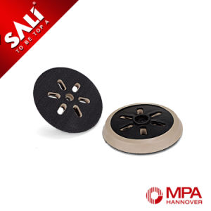 Top a Quality Sanding Magic Tape Rubber Disc Polishing Backing Pad M14*2 pictures & photos