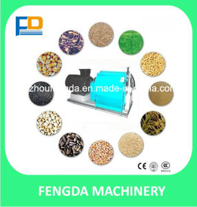 Factory Price 3t/H Animal Feed Crusher and Mixer Hammer Mill for Feed Grinding Machine pictures & photos