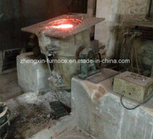 Medium Frequency Copper Melting Induction Furnace (GW-300) pictures & photos