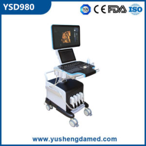 Cheapest Ultrasound Scanner Trolly 4D Color Doppler Ultrasound pictures & photos