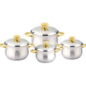 8PCS Stainless Steel Cookware Set - Belly Shape pictures & photos