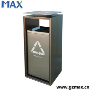 Especial Hanging Design Commercial Chute Slide Copper Steel Garbage Bin pictures & photos