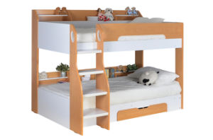 Loft Bunk Bed with Storage and Desk Children Furniture pictures & photos