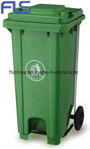 Hot Sale! ! Eco-Friendly 120L Plastic Wheelie Bin pictures & photos