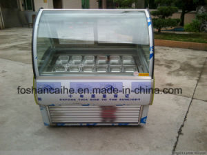 Commercial Popsicle Ice Cream Display Freezer pictures & photos