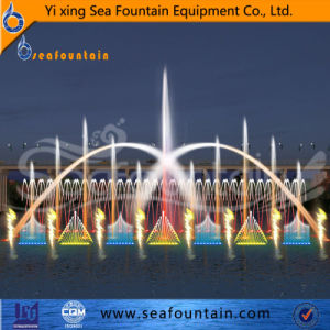 Ss304 Material Lake Floating 3D Nozzle Fountain pictures & photos