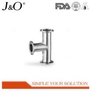 Sanitary Stainless Steel 3A Clamp Short Tee Pipe Fittings pictures & photos