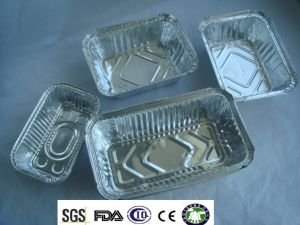 Eco-Friendly and Disposal for Kitchen Use Aluminium Foil Tray pictures & photos