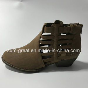 Girl Fashion and Comfortable Flat Sandals Women Shoes pictures & photos
