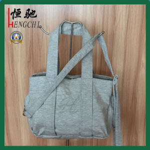 Tc Knitted Fabric Soft Fashion Ladies Tote Handle Bag pictures & photos