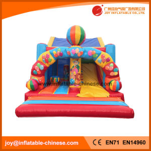 Jumping Moonwalk Combo with Slide Bounce House (T3-531) pictures & photos