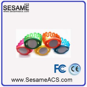 Swimming Pool Access Control Ultralight RFID Silicone Bracelet (S-WB2D) pictures & photos