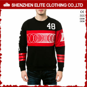 Wholesale Crewneck Couple Lover Black Sweatshirt Men Cotton (ELTSTJ-76) pictures & photos
