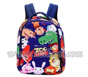 2017 Hot Selling Cartoon School Backpack Bag for Kid