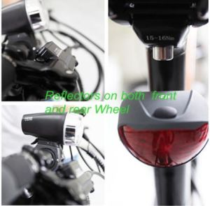 36V / 10.4ah Lithium Battery Al Alloy Electric Bicycle 250W (BN2605) pictures & photos
