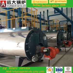 Factory Hot Sale 1ton 2ton Gas Fired Steam Boiler High Quality pictures & photos